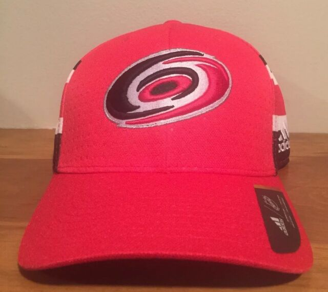 b6ed4829 adidas Hurricanes Structured Flex Draft Hat Men's Multicolor Red L/xl