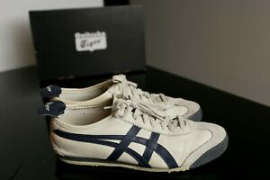 huge discount bf2b6 01c86 Details about Onitsuka Tiger Mexico 66 Birch/India Ink/Latte Men - 8.5