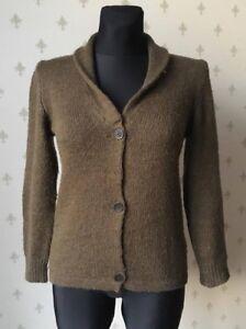 ISABEL-MARANT-Damen-Strickjacke-Size-UK-12-L-40-Wolle-Alpaka-Cardigan-Italy