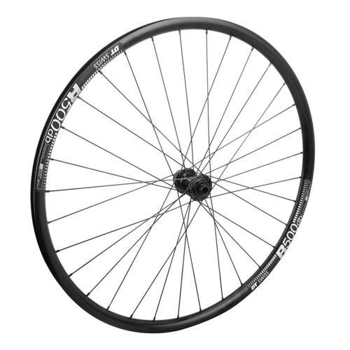 DT R500 Disc 32h Black 700c Bike Bicycle Front Wheel 12 x 100mm Tubeless