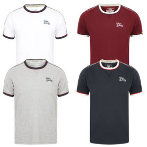 New-Men-039-s-Tokyo-Laundry-Fernfield-Cotton-Rich-Short-sleeves-T-shirt-Size-S-XL