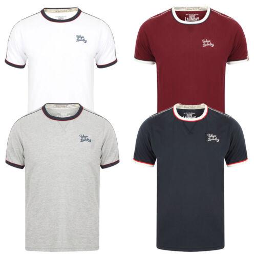 New Men/'s Tokyo Laundry Fernfield Cotton Rich Short sleeves T-shirt Size S-XL