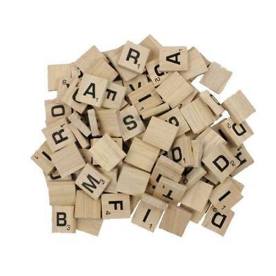 Buy 3 Get 1 Free Individual Alphebet Scrabble Tiles Woden Game Replacement Piece
