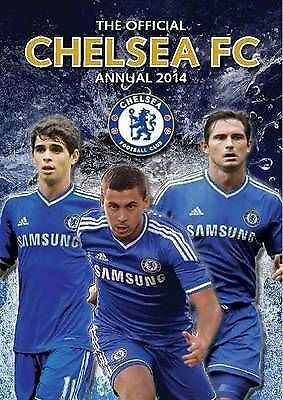 """""""AS NEW"""" , Official Chelsea FC Annual 2014 (Annuals 2014), Book"""