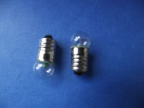 2 X 3.5V MES SCREW IN TORCH 3.5 VOLT BULB for use with 3 x 1.5v batteries