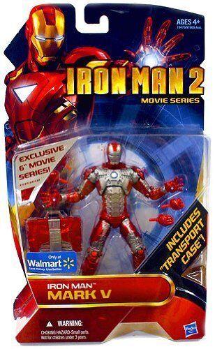 Iron Man 2 _ Iron Man Mark V 6  Figure _ Exclusive Limited Edition _ Movie Series _ En parfait état, sous emballage
