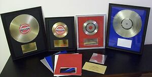 Blank-Gold-or-Platinum-w-Plaque-Record-LP-Album-or-45-to-Custom-RIAA-Quality