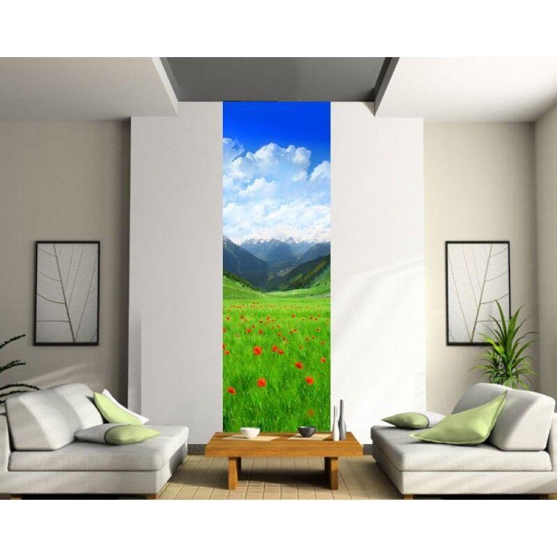 Sticker mural mural mural géant trompe l'oeil Paysage 420 | Art Exquis  60dc75
