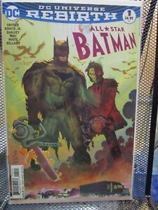fc5dcb3a2d00 All Star Batman  1 John Romita Jr Variant DC Universe Rebirth Comics ...