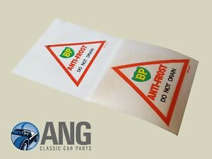 LOTUS-ELAN-ELAN-2-EUROPA-BP-ANTI-FREEZE-ORIGINAL-STICKERS