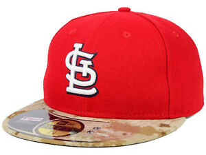 71ede492cd866a Details about Official 2015 St Louis Cardinals Memorial Day Stars Stripes  New Era 59FIFTY Hat