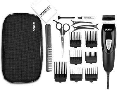 conair 18piece haircut kit hair clipper hair trimming