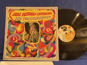 JIMI HENDRIX EXPERIENCED 0820143 BARCLAY ORIGINAL FRANCE LP VG+