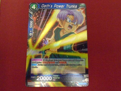 OATH/'S POWER TRUNKS Dragon Ball Super Card Game BT4-032 R MINT