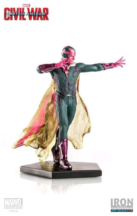 Captain America: Civil War - Vision 1/10th Scale Statue