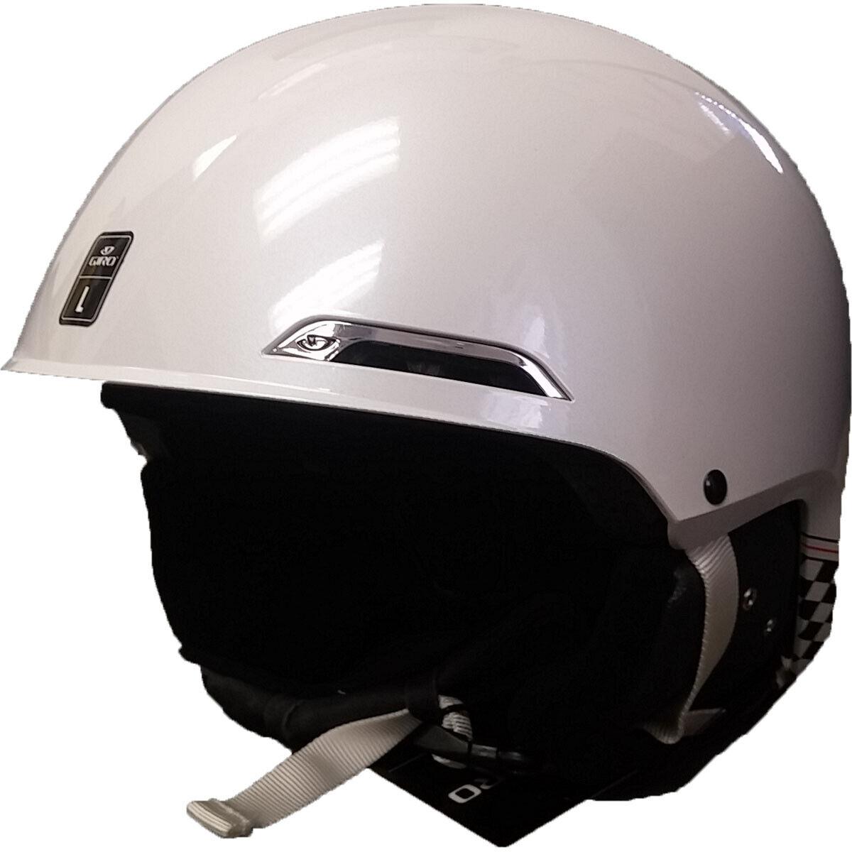 Giro Battle Skiing Snow Sports Helmet White SC Retro Adult Large L 59 62.5 cm