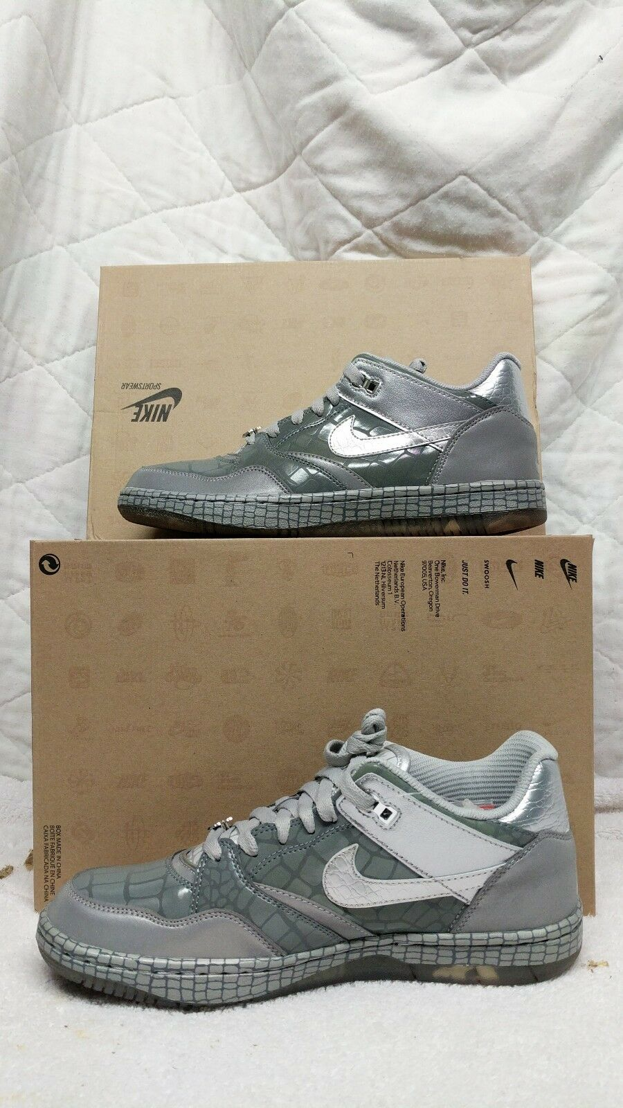 Nike Sky Force 88 Low Mighty Crown LTR QS  Sz. 9 Reflective Air 503767-001 1 Casual wild