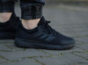 Details about Adidas mens shoes running training galaxy 4 CLOUDFOAM wokrout  black- show original title