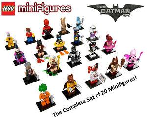 The Lego Batman Movie Collectible Mini Figure Series 1 71017 LEGO