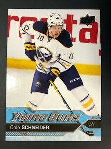 2016-17-Cole-Schneider-UD-Young-Guns-Rookie