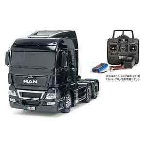 Tamiya 1 14 Electric RC  Assembly Set Trailer Head uomo TGX 26.540 6 × 4 Full Oper  di moda