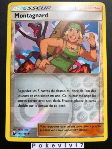 Carte Pokemon MONTAGNARD 133//168 REVERSE Soleil et Lune 7 SL7 FR NEUF