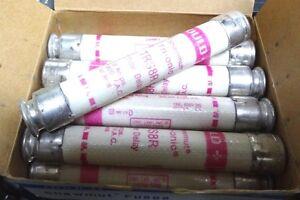GOULD-Shawmut-trs8r-8A-600VAC-Fusible-MERSEN-farraz-20mm-x-125mm-tempo-di