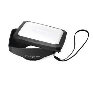 46mm-16-9-Rectangular-Ultra-wide-Lens-Hood-for-camcorder-camera-free-US-shipping