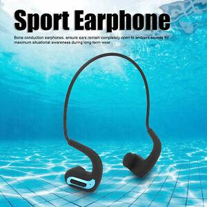 Waterproof Wireless Bluetooth Headphone Headset Bone Conducton Earphone for Swim