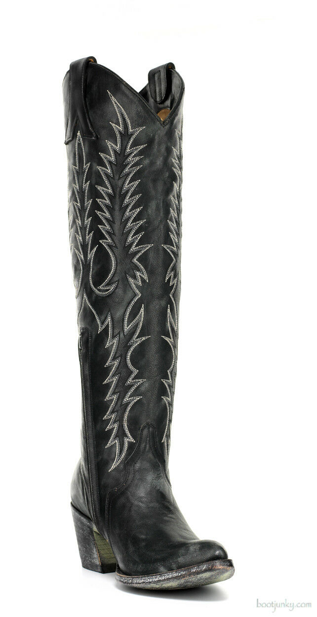 L 601-15 Old Gringo para mujer mujer mujer botas De Cuero Negro 18  Mayra sintino Toe Tacón  descuento de bajo precio