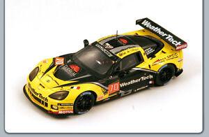 Spark-S3777-Chevrolet-CORVETTE-C6R-ZR1-Larbre-n-70-41eme-Le-Mans-2013-1-43