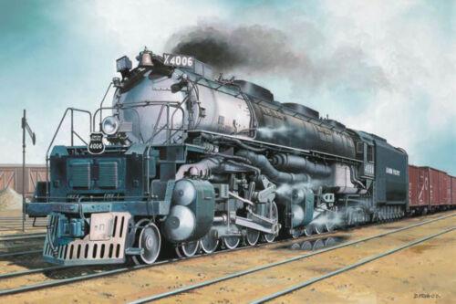 Revell 02165 Big Boy locomotora dampflokomitive kit sin accionamiento 1:87 nuevo