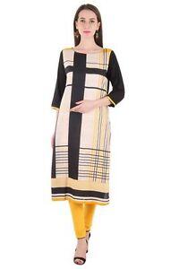 Indian-Bollywood-Kurta-Kurti-Designer-Women-Ethnic-Dress-Top-Tunic-Pakistani