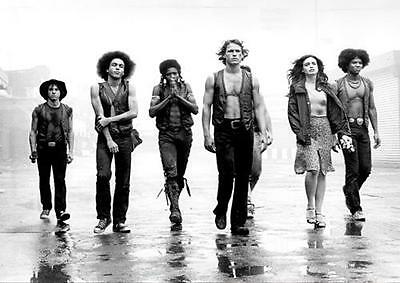 THE WARRIORS POSTER Classic Retro Movie Wall Art Photo Print Poster A4 A3