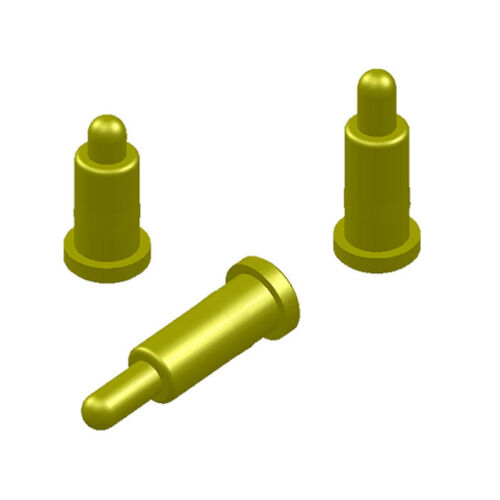Copper gold plating Plated Current Pogo Pin Probe Spring Loaded SMT Contacts