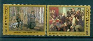 Russie-USSR-1987-Michel-n-5702-03-Wladimir-Lenine