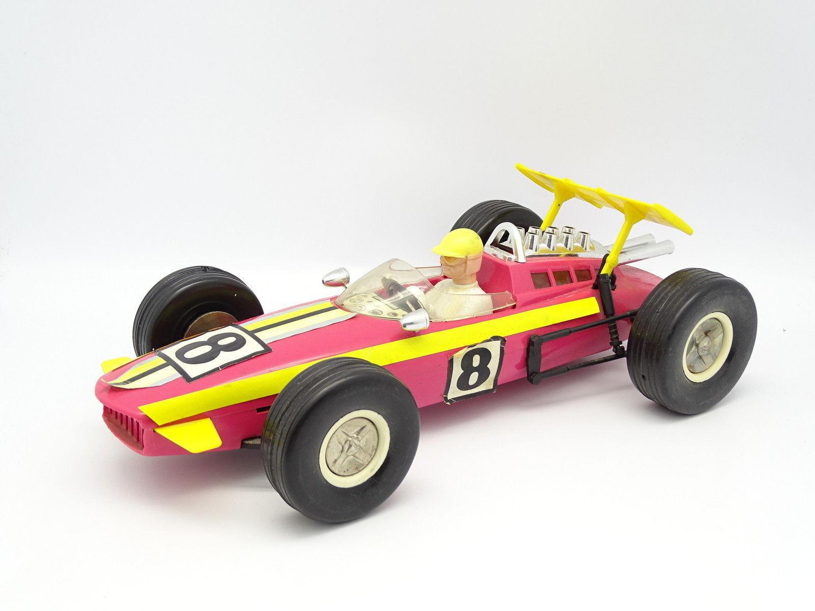 Joustra 30cm - F1 Fórmula 1 N°8 rosado Indianápolis