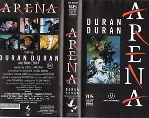 ARENA - DURAN DURAN - VHS - PAL - NEW - Never played - Original Oz release