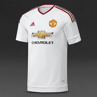 Manchester United 2015-2016 - White Adidas XL Shirt