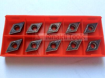 10 x DCMT11T304-P30//M20-TIALN für Stahl und Edelstahl  NEU! Mit Rechnung!!