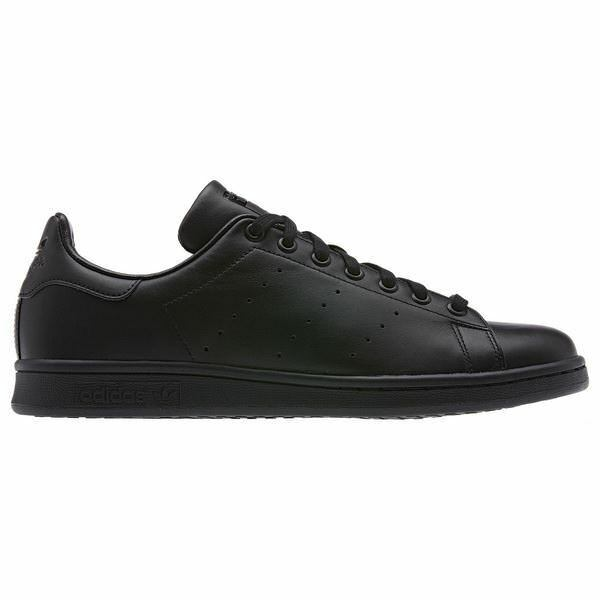 ADIDAS ORIGINALS STAN SMITH MEN'S TRAINERS SNEAKERS SHOES BLACK