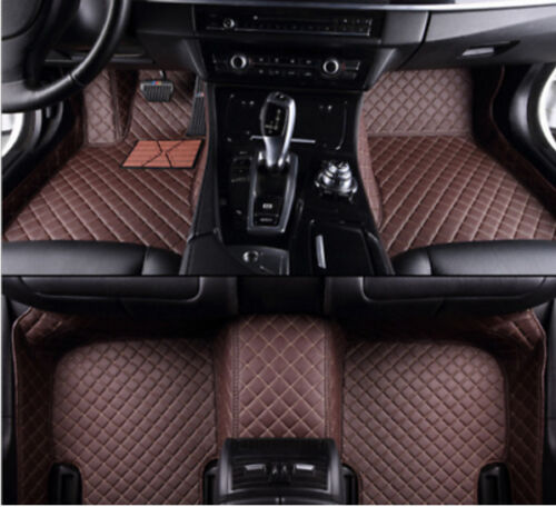 Fit For Cadillac SRX 2010-2016 leather Car Floor Mats Waterproof Mat
