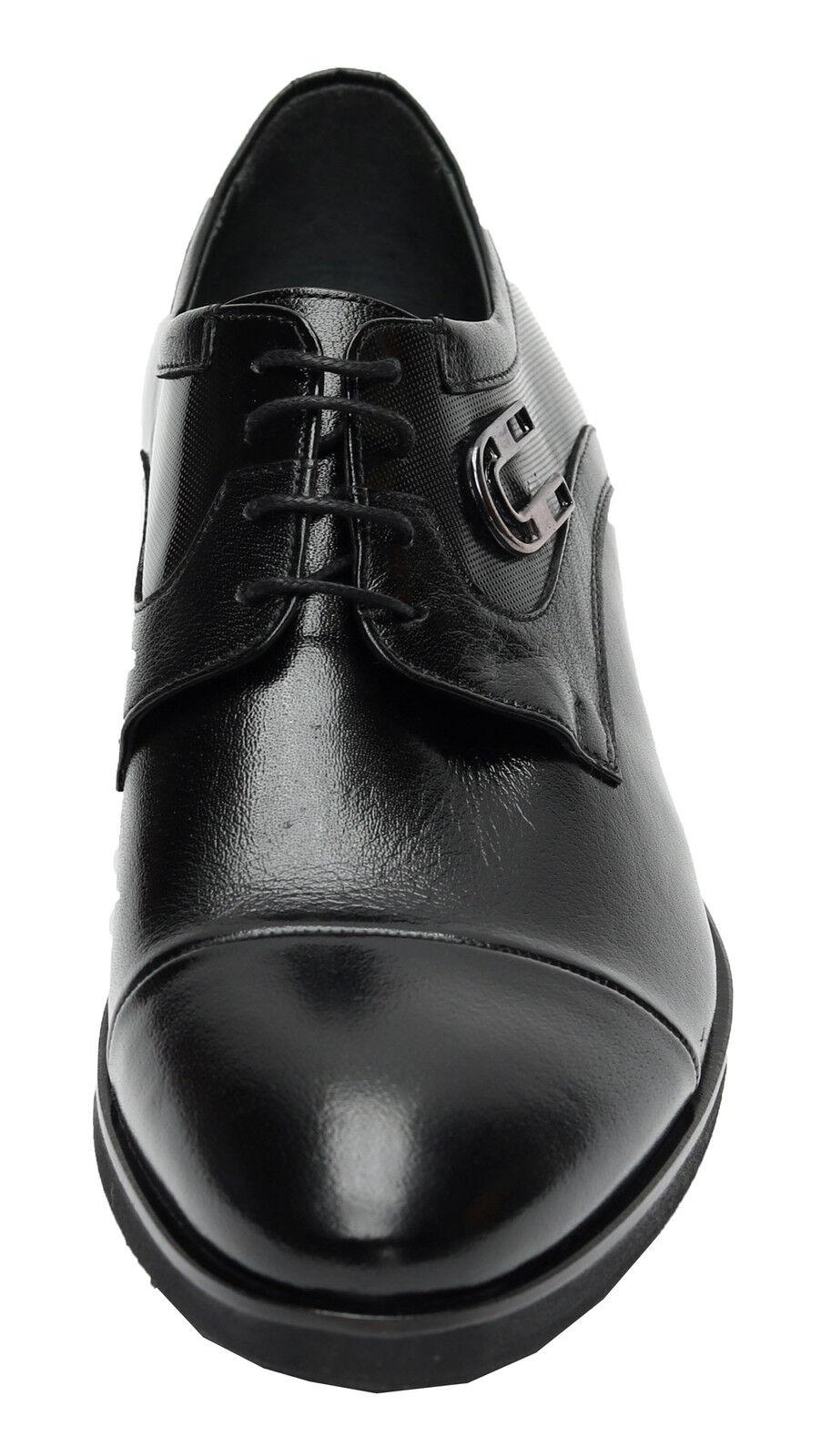 Billig gute Qualität Muga Schuhe mit Hufeisen-Applikation577Gr.44 Schwarz