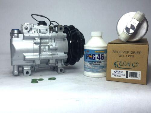 Remanufactured AC Compressor new Drier for 1990-1993 Mazda Miata w// Warranty
