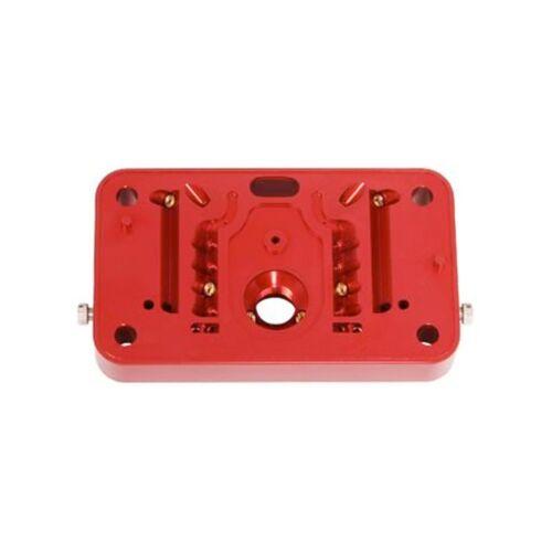 QUICK FUEL Billet Metering Block Kit Red Anodized 4 Emulsion CARBURETOR 34-4