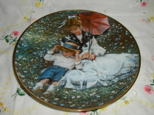 """A TIME TOGETHER"" PLATE SANDRA KUCK"