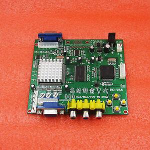 Arcade-Game-RGB-CGA-EGA-YUV-to-VGA-HD-Video-Converter-Board-HD9800-GBS8200-New