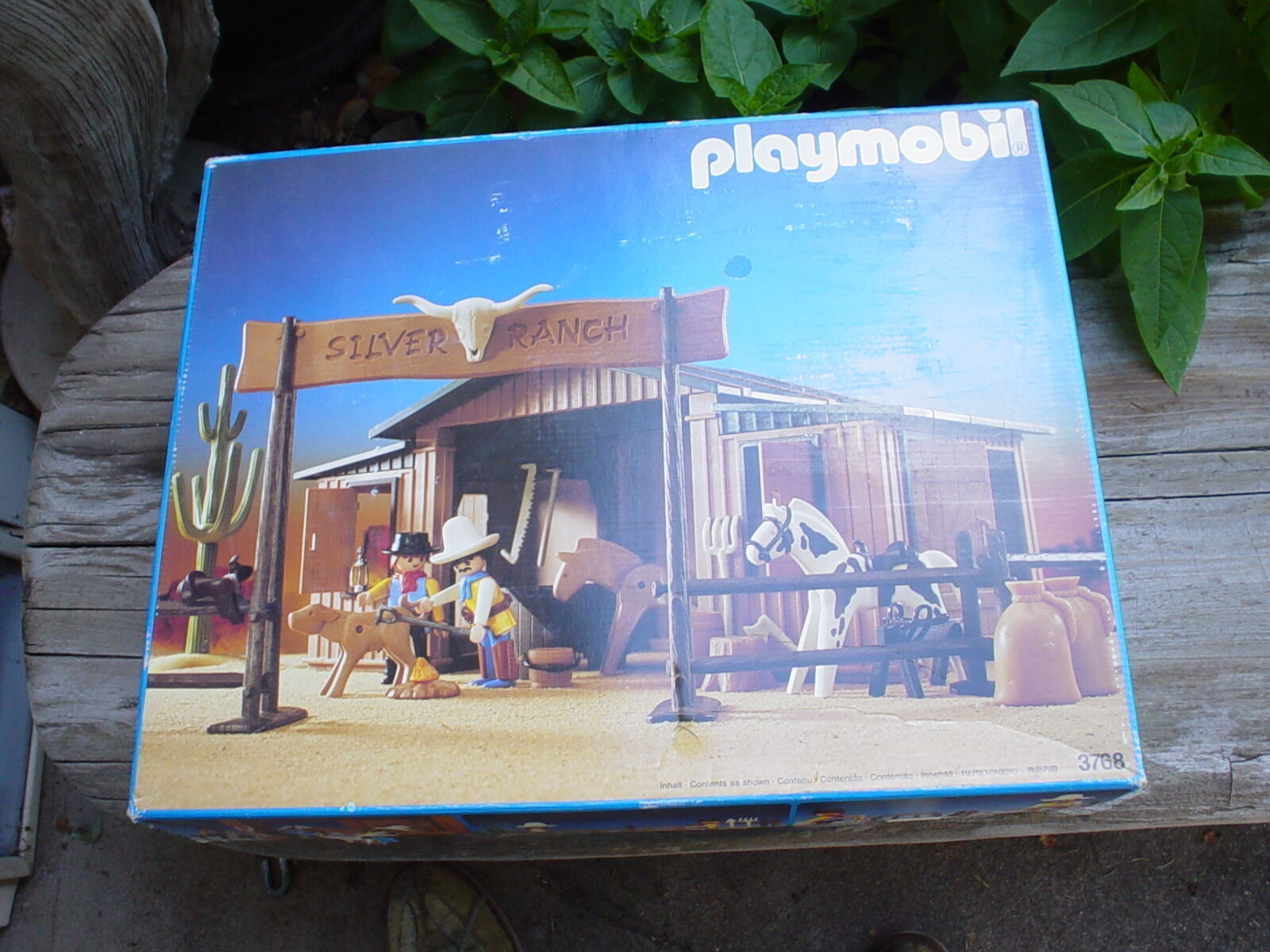 Playmobil 3768 WESTERN Silber RANCH  one owner  very nice