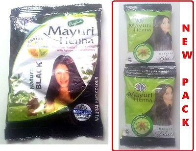 10 Packs Black Herbal Henna Hair Powder Indian Ayurvedic Herbs Hair Color  Sku2 8906021670029 | eBay