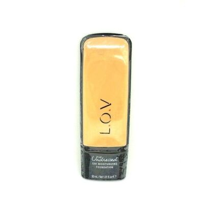 L.O.V The Undressed 12h moisturizing foundation No 020 Fair Dream